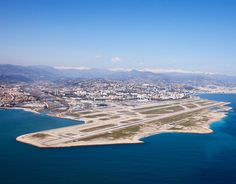 Nice's Cote d'Azur Airport, the third busiest airport in France