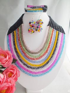 Find More Jewelry Sets Information about Free shipping A 4054 Fashion Multicolor Crystal Nigerian Beads African Wedding Beads Jewelry Set ,High Quality jewelry table,China jewelry scale Suppliers, Cheap jewelry head from Changzhou Day Colour Jewelry Co., Ltd. on Aliexpress.com