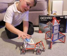 Geomag NASA Rocket & Rover review  Giveaway