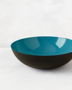 "Bowl..For clean lines, you just can't beat Scandinavian design. Case in point: Normann Copenhagen's enamel ""Krenit"" bowl (abodeon.com)."