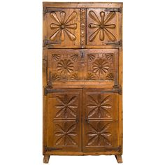 Mexican Cabinet | From a unique collection of antique and modern cabinets at http://www.1stdibs.com/furniture/storage-case-pieces/cabinets/