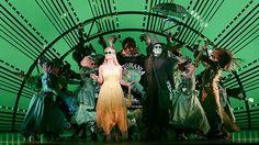WICKED (Brisbane, 11 April 2015). Starring Jemma Rix, Suzie Mathers, Simon Gallaher.