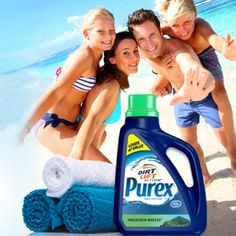 Enter the Purex' Summer Stains Sweepstakes for your chance to score the Grand Prize: $1,000 and a 1-year supply of Purex Dirt Lift Action detergent. (ARV: $1,060) The promotion is open to the current legal residents of the USA, 18 . Enter once daily through June 28, 2013 at 3:00 p.m. PT. See the Official Sweepstakes