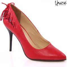 Women high heel court shoes have nicely carved heels, the heel height is 4 inches, which are heavily demanded by short heighted women which gives them adorable looks. The material used is leather which provides stability and long life to shoes.