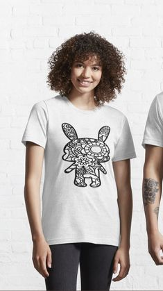 Bunny Yoga, Street Beat, Bunny Crafts, T Shirts With Sayings, Zentangle, Quotes, Quotations, Zentangle Patterns, Zentangles