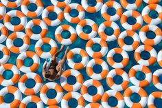 Pool and Rubber Rings Creative Photography – http://www.graymalin.com/