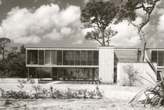 Leavengood Residence, St. Petersburg Florida. 1950-1. Ralph Twitchell & Paul Rudolph