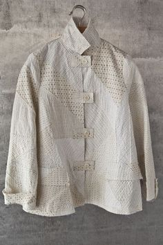 Asiatica KC Jacket I would use the Zen of Now and Zen pattern