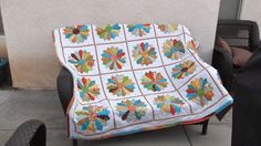"Kathy Baggett Roethler: ""Not your typical Dresden Plate pattern. Added a little attitude on mine. ""Quilts! - 24 Blocks"
