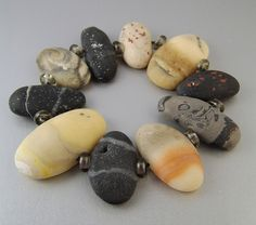 Rock Bracelet by Kim Cavender, via Flickr