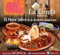 Lo esperamos en... LA LIMITA RESTAURANTE... con EL GRAN SABOR DE LA MEJOR TRADICIÓN SINALOENSE!! venga a probar nuestros deliciosos platillos, acompañados de café de olla, pan recién hecho y tortillas del comal... ¡todo en un gran ambiente campestre!! #riquísimos #desayunos #deliciosas #comidas #tortillasdelcomal #pancasero #cafédeolla #familia #tradiciónsinaloense #reunión #hechoconamor #amigos #amigas #sabor #cariño #elmejorambiente