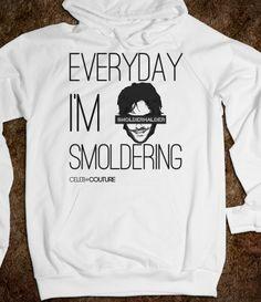 Everyday I m Smoldering  damon  vampirediaries Vampire Diaries Shirts 41d899a7c
