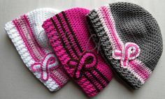 Hat listing at https://www.etsy.com/listing/164384513/awareness-crochet-beanie-in-womens-small