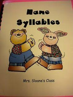 Name Syllables Book
