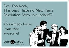 Great New Year's Resolution!