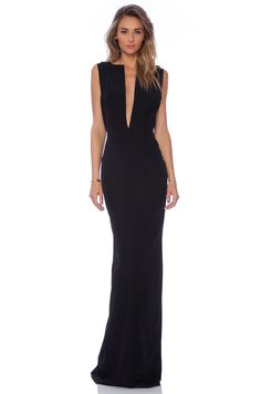 SOLACE London Linder maxi Dress in Black | REVOLVE