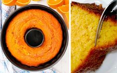 The Easiest and Lightest Orange Cake – New Cake Ideas Greek Sweets, Greek Desserts, Greek Recipes, Quick Recipes, Easy Sweets, Sweets Recipes, Raw Food Recipes, Cooking Recipes, Cakes Originales