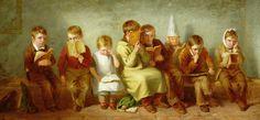 Уэбстер Томас (1800-1886), Англия  Печаль (1842)