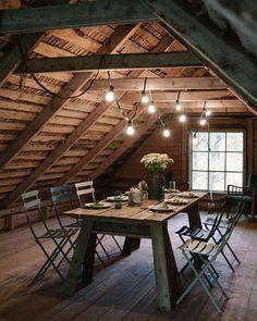 Stunning Cool Tips: Attic Design Sleepover attic loft lighting. Attic Spaces, Attic Rooms, Attic Apartment, Attic Bathroom, Attic Playroom, Attic Bed, Attic Ladder, Bathroom Modern, Apartment Living