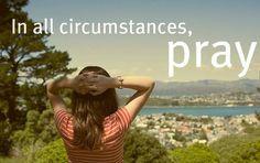 Prayers change things