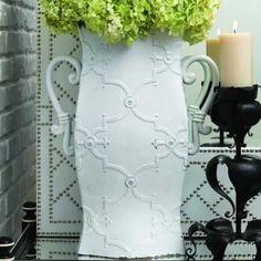 Pagoda French Vase,Earthy Modern