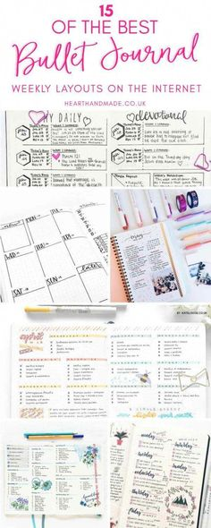 Great ideas for lovely bujo layouts. This one looks smoothly, magically calm. Like Martha Stewart had a baby with Chriss--Never mind. Lets just say it looks preternaturally calming. Bullet Journal Design, Bullet Journal Banners, Digital Bullet Journal, Bullet Journal Page, Bullet Journal Weekly Layout, Bullet Journal How To Start A, Journal Template, Bullet Journal Spread, Bullet Journal Inspiration