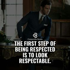 Respect is wonderful word It carries weight You got earn it not buying it Dear r… – fashion quotes inspirational Millionaire Lifestyle, Millionaire Quotes, Positive Quotes, Motivational Quotes, Inspirational Quotes, Men Quotes, Life Quotes, Daily Quotes, Gentleman Quotes