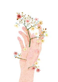 Só floresça #illustration