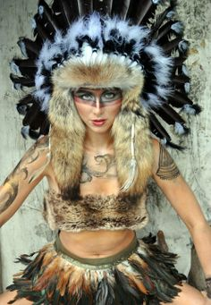 images of tribal photo shoots | ... : RAW Fashion Magazine Photo Shoot 2011 - Daughter of the Desert