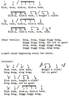 Pentatonic Ostinato Folk Songs and Compositions--broken link--pinned for pic only Preschool Music, Music Activities, Teaching Music, Music Lesson Plans, Music Lessons, Music School, Music For Kids, Elementary Music, Music Classroom