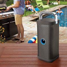 Big Blue Party Indoor-Outdoor Bluetooth Speaker.    Bluetooth Loudspeaker  Best Portable Bluetooth Speakers 2016  Cheap Bluetooth Speakers  Waterproof Wireless Speaker  Portable Wireless Bluetooth Speakers  Best Wifi Speakers  Best Portable Speakers 2016  Beats Portable Speaker