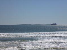 Robben Island au loin