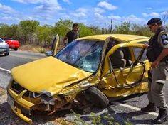 Cinco acidentes deixam quatro pessoas mortas e 13 feridas em apenas um dia no Sertão