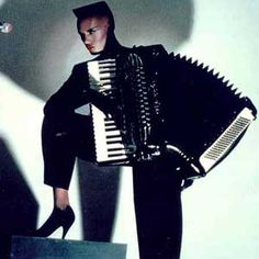 Grace Jones. So ahead of her time.