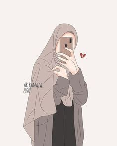 Islamic Wallpaper, Galaxy Wallpaper, Disney Wallpaper, Hidden Pictures, Art Pictures, Cute Couple Wallpaper, Islamic Cartoon, Anime Muslim, Hijab Cartoon