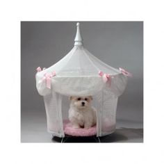 Sugarplum Princess Dog Cat Pet Bed Canopy Tent in Pet Supplies, Dog Supplies, Beds