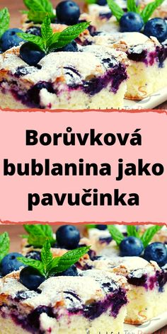 Sweet Desserts, Dessert Recipes, Czech Recipes, Amazing Cakes, Yummy Treats, Cheesecake, Food And Drink, Tasty, Sweets