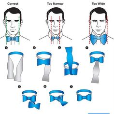 Guide to showing how to tie a bowtie TS