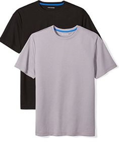 f9dc7e86fac Amazon Essentials Men s 2-Pack Performance Mesh Short-Sleeve T-Shirts   tshirt  men  mesh  mentshirt  shirt