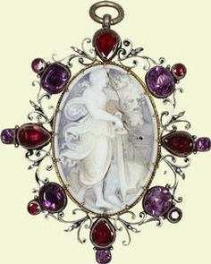 Cameo of Judith and Holofernes, 16th century,  German