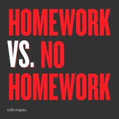 Why Do We Have Homework? | Wonderopolis