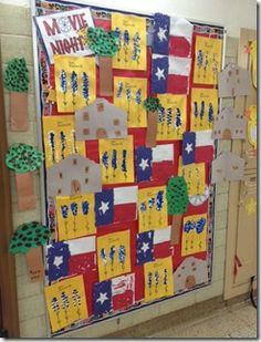 Texas Crafts but also a freebie for making words with plastic eggs Kindergarten Social Studies, Social Studies Activities, Teaching Social Studies, Pre Kindergarten, Independence Day Activities, Texas Independence Day, Cowboy Crafts, Texas Crafts, 4 Year Old Activities