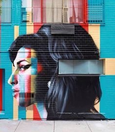 'The 27 Club' – Street Artist Eduardo Kobra mit grandiosem Tribute-Mural in NYC Janis Joplin, Amy Winehouse, Jim Morrison, Jimi Hendrix, Murals In Nyc, Kobra Street Art, Brazil Art, Portrait Background, Urbane Kunst
