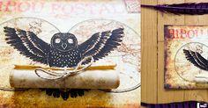 fête harry potter anniversaire soirée décoration halloween poudlard diy invitation hibou owl