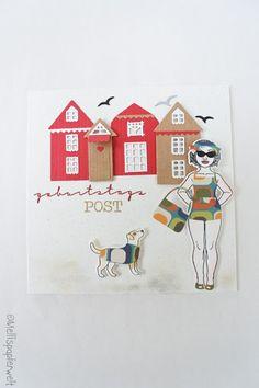 Stanzschablone Karo Hochzeit Oster Weihnachten Neujahr Geburtstag Karte Album