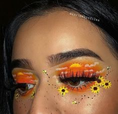 creative eye makeup Wedding Makeup – Brille Make-up Makeup Eye Looks, Eye Makeup Art, Crazy Makeup, Cute Makeup, Pretty Makeup, Skin Makeup, Eyeshadow Makeup, Crazy Eyeshadow, Younique Eyeshadow