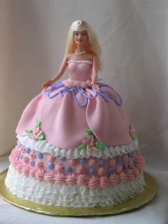 Barbie Cakes – Decoration Ideas | Little Birthday Cakes