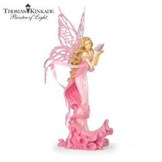 Hope Angel Figurine: Breast Cancer Hope Gift by The Hamilton Collection