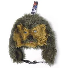 Star Wars Chewbacca Laplander Hat:  They did a great job on the face. Give a Wookie growl and get one today for just $17.99 from Entertainment Earth. Any Star Wars fan would love to get this hat as a gift too.