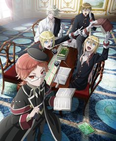 """Crunchyroll - Main Cast Gets Ready for Lessons in """"The Royal Tutor"""" TV Anime"""